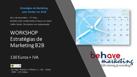 Estratégias de Marketing - Workshop\\n\\n17/10/2018 14:29