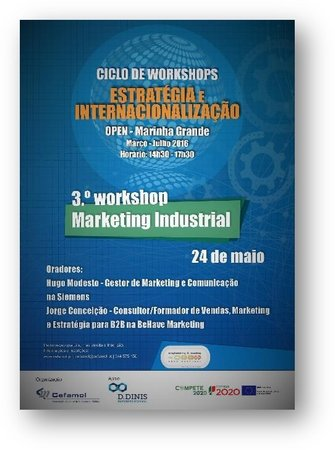 Workshop Marketing Industrial - Marinha Grande\\n\\n17/10/2018 14:18