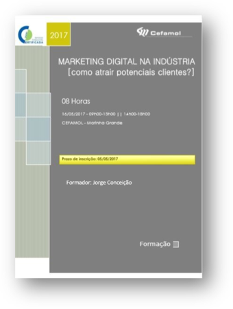 Workshop Marketing Digital Marinha Grande\\n\\n17/10/2018 14:19